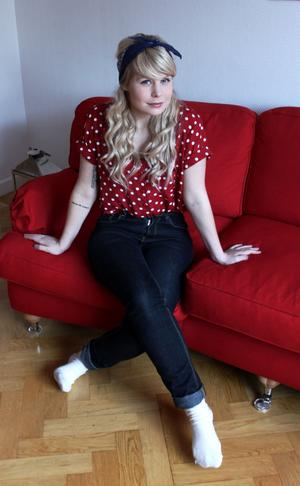 Matilda Jansson, bördig från Vansbro, bor nu mer i Stockholm och arbetar bland annat med musikalen Leva Livet.