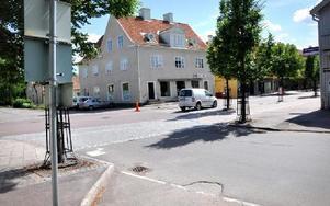 Vid korsningen Sveavägen Vasagatan ska en bättre korsning för genomfartstrafik
