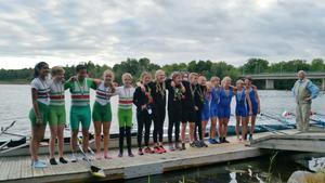 Solleröguld mixed fyraJonna Pettersson, Maja Sahr-Throgen, Albert Bälter, Isak Birkeholm och Elin Wik tog SM-guld i nya mixedklassen.
