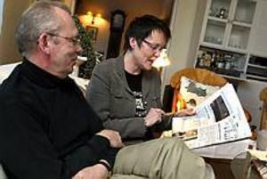 Foto: NICK BLACKMON\nUpprörda. Anders och Gun Krantz reagerade starkt när de läste i Gefle Dagblad om Barncancerfondens chefs lön. Den rimmar illa med den anda som rådde då de var med och startade föreningen och fonden.\n