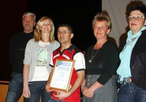 Göran Pålsson, Anna Fundin, Kichi Zidou, Laila Westling och coachen Gun-Lis Bergman prisades för att de, tillsammans med Mats Johansson, tagit hem segern i tävlingen kommunduellen till Härjedalen.