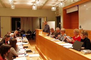 Robert Thunfors, talesperson i Nätverk Timrå, var ofta uppe i talarstolen och tycket även andra skulle gå upp mer.