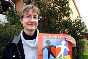 Angelina Backman, präst, Kvistbro, Samordnare för Världens barn insamlingen i Lekbergs kommun
