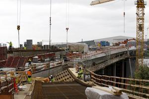 Bygget av bron över Sundsvallsfjärden är en milstolpe under 2010-talet. Bron invigdes den 18 december 2014.