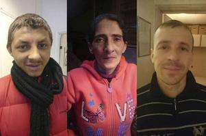 Alex, Stella och Mircea är några av de EU-migranter i Sundsvall som har lagt ut jobbannonser.