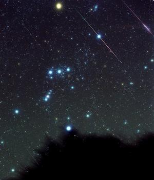 Ladda för stjärnfall.