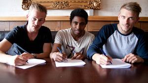 Daniel Snickars, Jonas Sandberg och Eric Hult är klara för nästa säsong med Per-Ols.