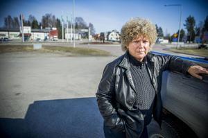Irene Frank och medlemmarna i Hanebo byavakt håller sina vakande ögon på Kilafors.