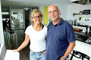 Camilla och Björn är båda intresserade av formgivning.