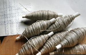 Linne är det material som finns i Majas textilprodukter.
