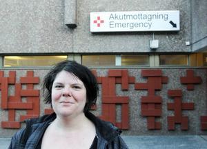 Cecilia Bengtsson har lanserat en idé som kan förbättra situationen för patienter som väntar på akuten.