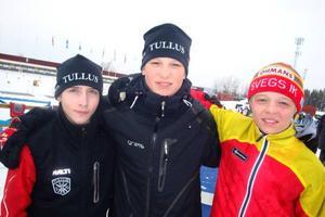 Det blev silver till Jämtland/Härjedalens lag 1 med Henrik Johansson och Martin Ponsilouma, Tullus, samt Markus Stenberg, Sveg, i klassen H14 i lördagens SM-stafett.– Det här var riktigt roligt, tyckte Henrik som liksom Markus gjorde sin debut i SM-sammanhang under lördagen.