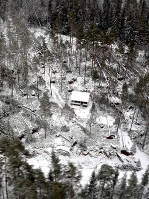 Bara en månad innan hade stormen Hilde dragit fram genom samma område.