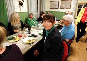 Miljöpartiets Maria Algotsson var bekymrad över Sverigedemokraternas framgångar.