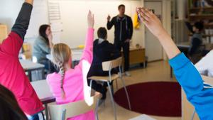 Terminsstarten blir dyr för många föräldrar med barn i skolåldern. Arkivbild. Foto: Fredrik Sandberg/TT
