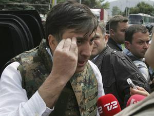 Det var faktiskt inte Ryssland som inledde kriget i Georgien 2008. Det var Carl Bilds vän Mikhail Saakasjvili som gick till attack.