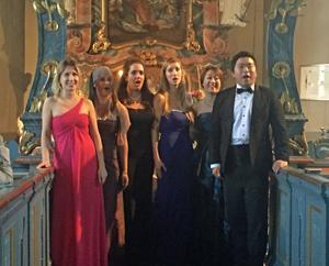 Arkivbild från den Vivaldiopera som spelades upp i Vemdalens kyrka vid ett tidigare tillfälle.