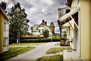 MORDTURISM. Nyfikna har redan börjat leta sig ut till Anders Eklunds hem i Torsåker.