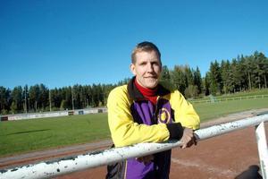 MOTION. Lennart Svanström, NAIF -79, är glad över att få sätta Tierpsborna i rörelse.