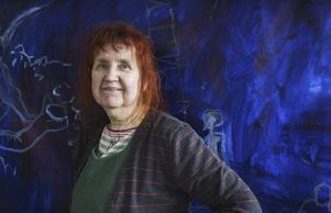 Tania Fred ställer ut i Gärde tillsammans med Karin Olsén Öberg.