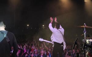 Publiken gav starkt gensvar. Foto: Kalle Sundin