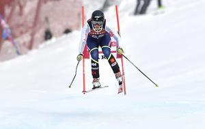 Fanny Axelsson från Mora presterade bäst på fartgrenarna under SM i Åre.