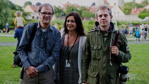 NA är på plats i Almedalen med Lars Ströman, Carina Tenor och Filip Erlind.