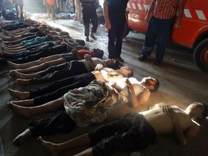 Syrien, augusti 2013.