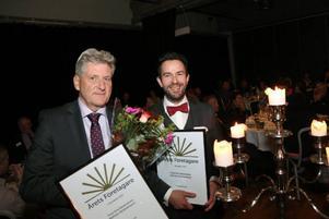 Årets företagare 2014 i Härjedalens kommun blev Tord Erik Zetterström och Mathias Abrahamsson, Härjedalskök. Foto:Arkivbild.