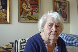 På Åkershem är hon den äldsta boende.