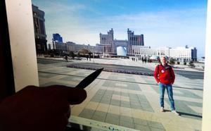 Städerna i Kazakstan är fräscha och rena. Landsbygden är fattigare.
