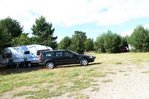 Campingen på Åstön.
