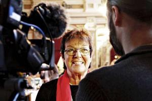 Inger Källgren Sawela (M) är i blåsväder igen.