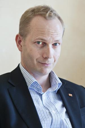 Sandvikenhus vd Patrick Skoglund.