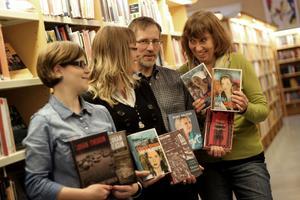 Författarna Bengt Ohlsson, Johan Theorin och Vibeke Olsson besöker Hedemora Stadsbibliotek i höst.