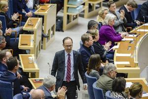 Den långdragna socialförsäkringsutredningen presenterade sitt betänkande på måndagen. Alla partier är representerade, en av utredningens medlemmar är socialdemokraternas Tomas Eneroth, bilden.