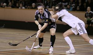 Frida Lans gjorde två mål. Foto: Mikael Stenkvist