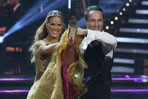 Marie Serneholt och danspartnern Kristjan Lootus fick se sig besegrade i finalen av