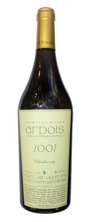 Vinnarchardonnay. Arbois Chardonnay är en frisk, nötig, lite smörig och personlig chardonnay från det franska distriktet Jura nära den schweiziska gränsen. Vann sin klass i omröstningen.