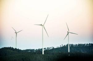 Högkölens vindkraftpark beräknas vara klar i slutet av 2018. (Arkivbild)