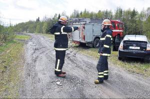 Olyckan orsakade ett stort pådrag med räddningstjänst från Åre, ambulans och polis.