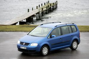 Bäst i krocktest. Volkswagen Touran fick högsta betyg i Euro Ncaps krocktest.