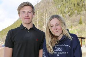 Nils Mattsson Myhr och Klara Carlund berättar om resan till Krakow.