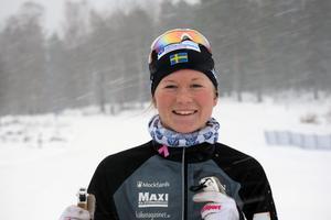 Maja Dahlqvist, Falun-Borlänge SK, gjorde en bra sprint i Toblach förra säsongen. Nu i helgen hoppas hon slå sin bästa världscupplacering.