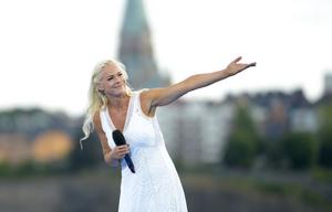 Malena Ernman gör tre konserter i Dalhalla i sommar.