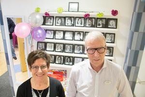 Anna-Carin Peth, verksamhetschef, och Jan Willner, vd, för Avestahälsan har sett till att företaget har gått från tio till 35 anställda på fem år.
