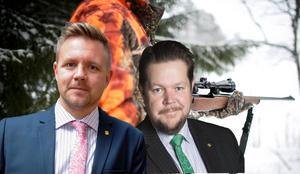 För alltför många krafter har det varit viktigare att göra ändringarna av vapendirektivet till en symbolfråga för terrorbekämpning än att se till att göra ett bra lagstiftningsarbete och förbättra nuvarande vapendirektiv. Det skriver Fredrick Federley,  europaparlamentariker och Johan Hedin, Riksdagsledmot och rättspolitisk talesperson, Centerpartiet. Bilden är ett montage. Foto: Jonas Dafgård/privat.