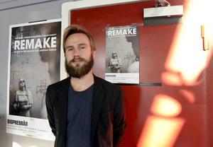I kväll är det premiär för nya filmen Remake, bland annat i Sundsvall.