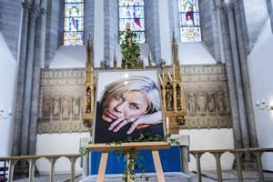 Josefin Nilsson begravdes i Visby domkyrka på fredagen.