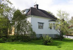 30-tals villan som den såg ut från början.